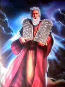 Moses and Commandments