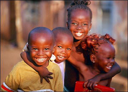 HappyAfricanChildren